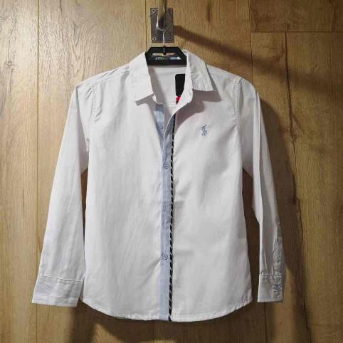 Camisa Niño Algodón Blanca