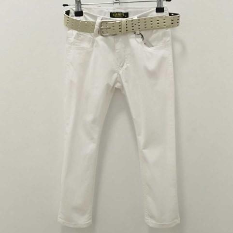 Pantalón Niño Corte Chino Blanco