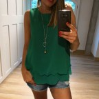 Cuerpo DOBLE CAPA con Collar Verde Benetton