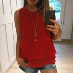 Cuerpo DOBLE CAPA con Collar Rojo