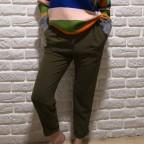 Pantalón Fluido EMMA Khaki