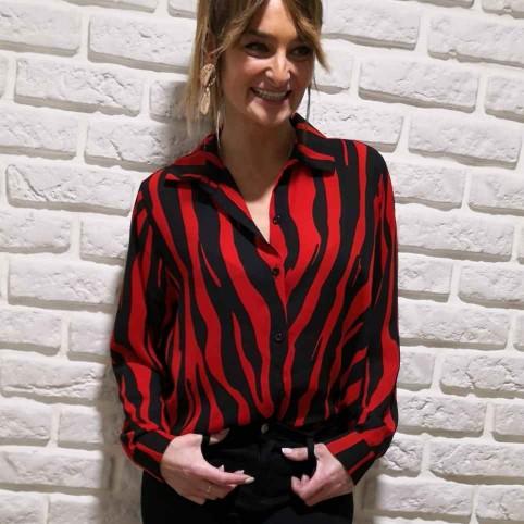 Camisa Print MASSAI Rojo