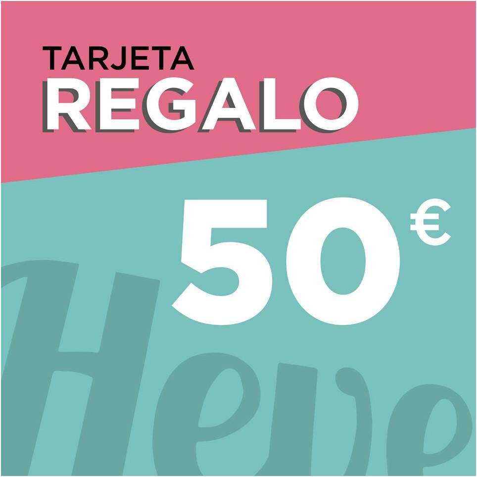 Tarjeta regalo 50 euros