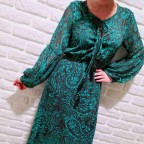 Vestido Cachemires AMICE Esmeralda