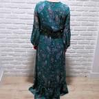 Vestido Cachemires ISOLDE Verde