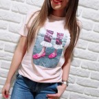 Camiseta Fantasía DOROTHY Rosa