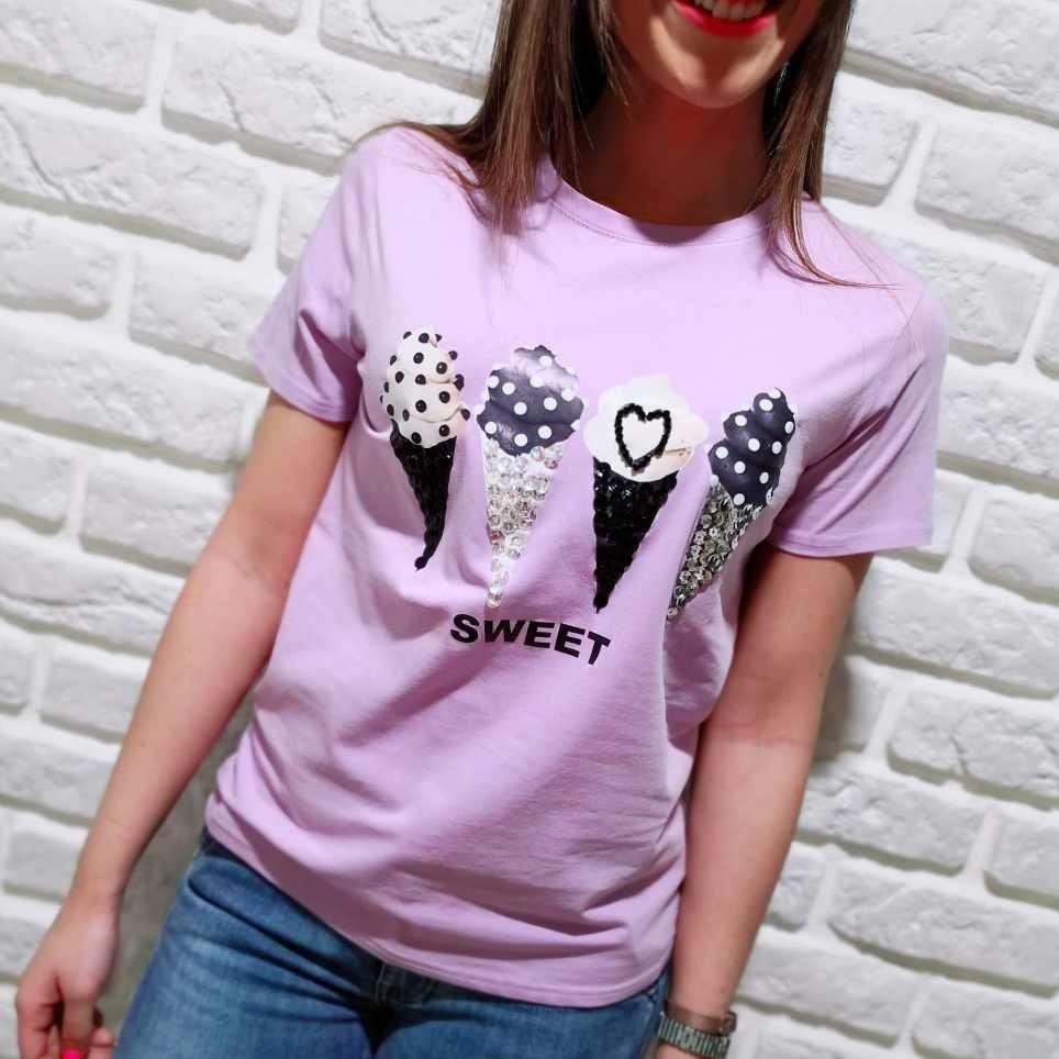 Camiseta Fantasía SWEET Lila