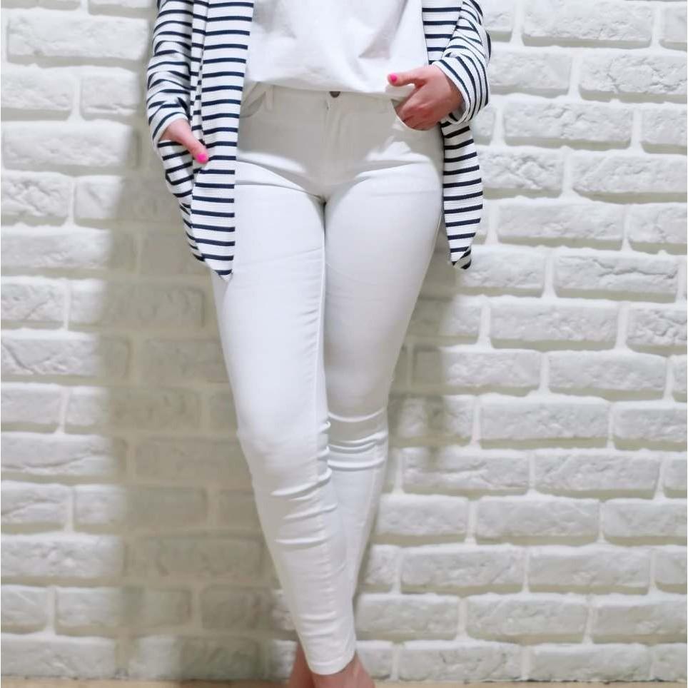 Pantalón Encerado NORAH Blanco
