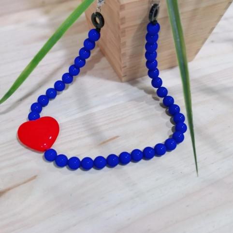 Collar BALLS Azul Klein