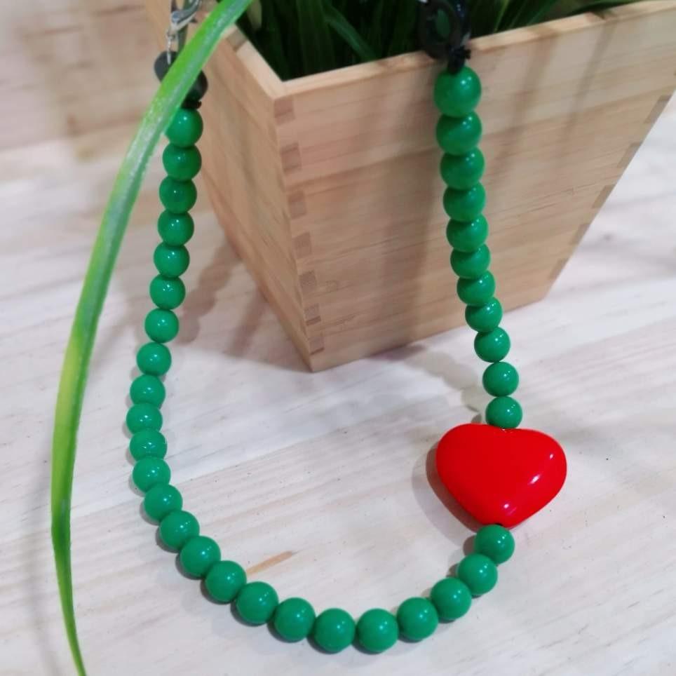 Collar BALLS Verde