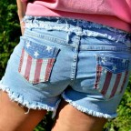Short Denim Bandera