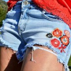 Short Denim Bordados