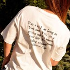 Camiseta Mensaje MONSIEUR Blanco