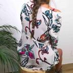 Kimono Estampado PHYLIS Beige