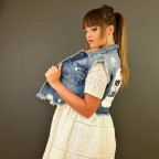 Chaleco Corto Denim ROCK