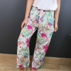 Pantalón Fluido AMAZONIA Blanco