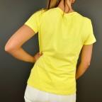 Camiseta Calavera SADIE Amarillo