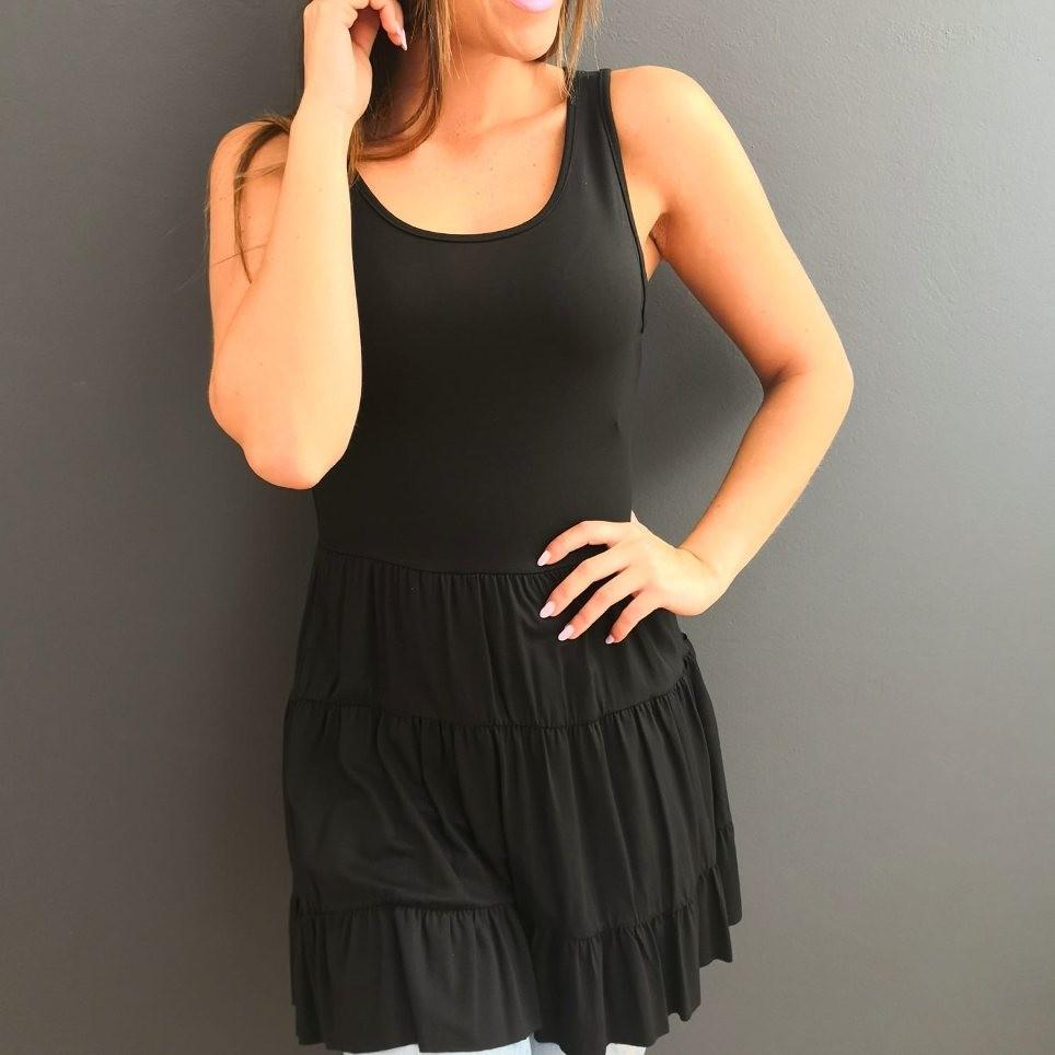Camisola Ondas Negro