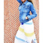 Vestido Degradado SIRA Azul Jean