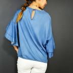 Blusa Denim RIPPLE Azul Medio