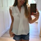 Blusa Cruzada PRUE Blanco