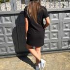 Vestido Oversize CANDY Negro