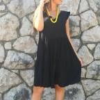 Vestido Ondas TIARE Negro