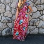 Vestido Fluido ENARA Cereza