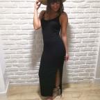 Vestido Canalé GRETTEL Negro