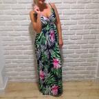 Vestido Estampado BELICE Marino/Rosa