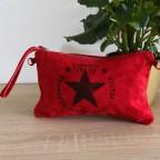 Bolso Ante VINTAGE Rojo