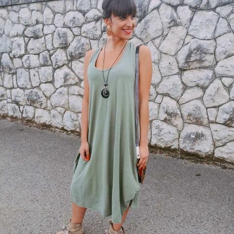 Vestido AYLEN Khaki