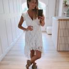 Vestido Encaje SAADA Blanco