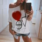 Camiseta Blanca Corazón Tull