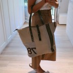 Bolso Shopper Yute Beige