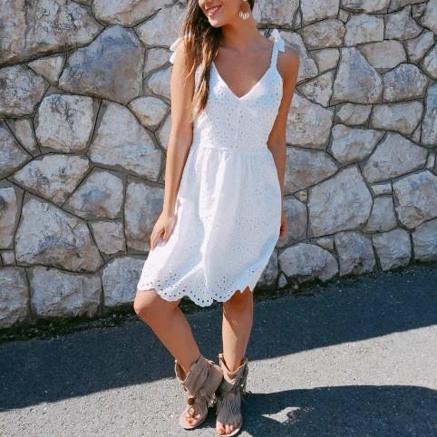 Vestido Ibicenco ALBA Blanco