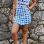 Falda Pantalón TRAVIATA Azul