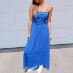 Vestido NELLIE Azul Klein