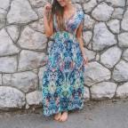 Vestido Fluido Cachemires Rosa