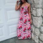Vestido Estampado SOLANGE Rosa