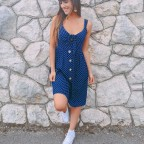 Vestido Lunares JOLIE Marino