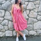 Vestido Lunares JOLIE Rosa