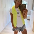 Conjunto Chaleco y Camiseta BRILLIANT Amarillo Flúor