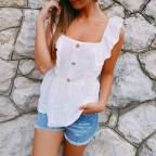 Blusa Volante BINNAZ Blanco