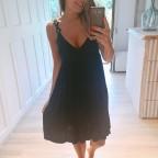 Vestido Combinado DÁNAE Negro