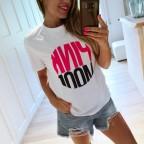 Camiseta Mensaje PINK MOOD Blanco