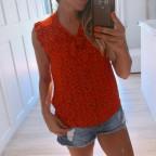 Blusa Estampada SILENE Rojo
