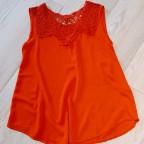 Cuerpo Crochet TULIPE Rojo