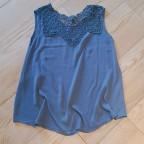 Cuerpo Crochet TULIPE Azul Jean