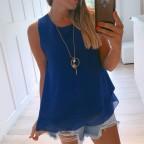 Cuerpo DOBLE CAPA con Collar Azul Klein